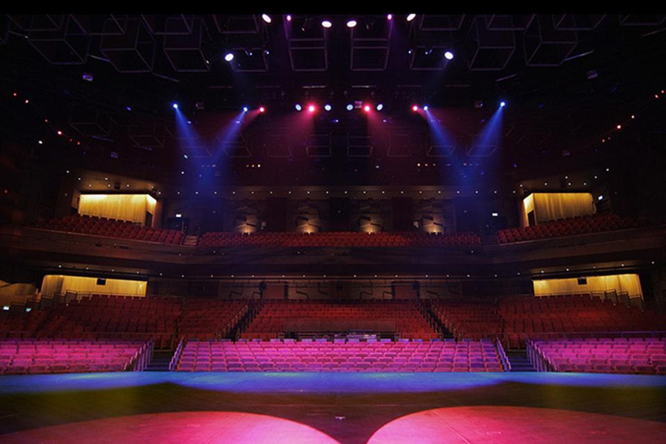 Так выглядит зрительный зал в MGM Macau Resort Theatre