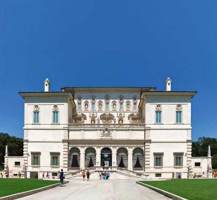 Галерея Боргезе находится внутри одноименной виллы