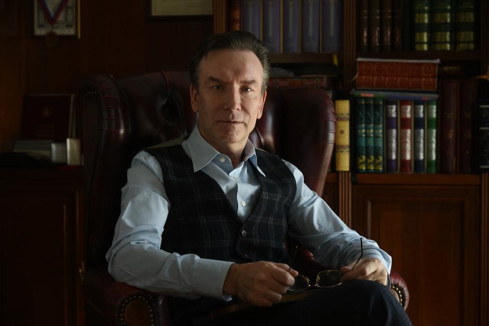 Сергей Кондратов, глава издательства «Терра» и президент закрытого книжного клуба Monplaisir