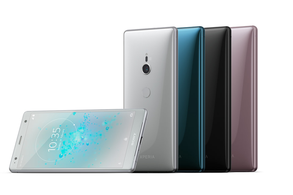 В Xperia XZ2 изменили не только дизан, но и внутреннюю начинку смартфона