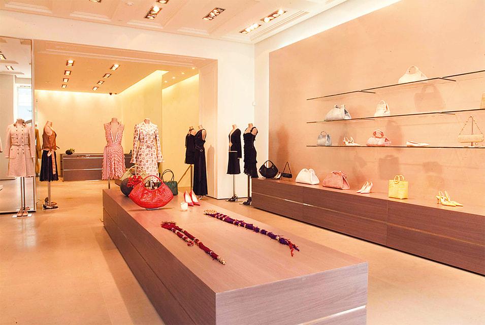 Концептуальный магазин Aizel в Москве был открыт в 2003 году
