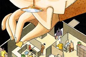 Эксперты выяснили, что почти 60% опрошенных не хотят работать <br>в так называемых open space
