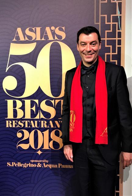 Лука Фантин, шеф-повар  токийского Il Ristorante