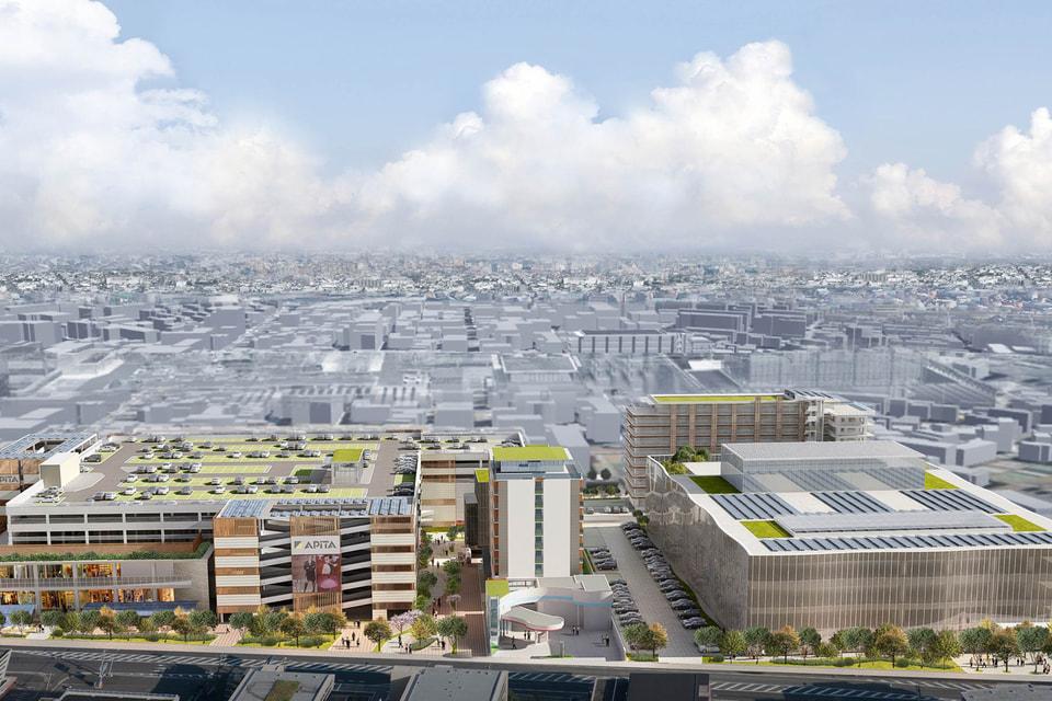 Цунасима - квартал смарт-мегаполиса будущего
