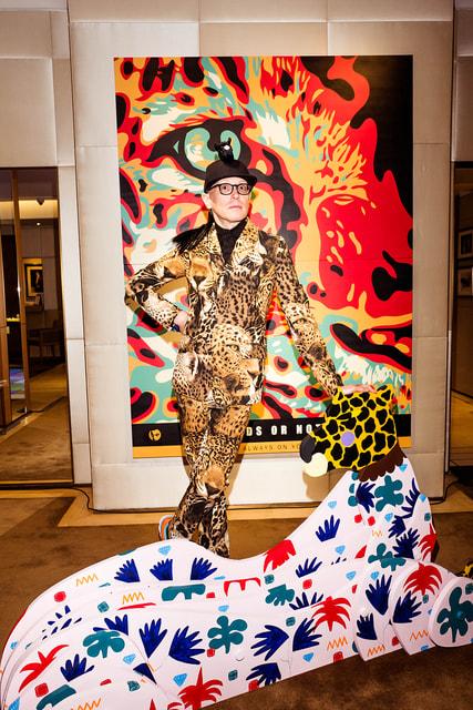 Художник Андрей Бартенев представил свой многожанровый арт-проект во флагманском бутике Cartier