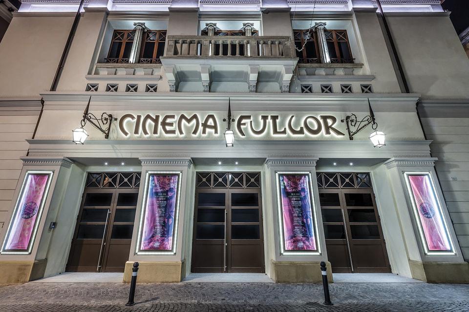 Кинотеатр Fulgor снаружи