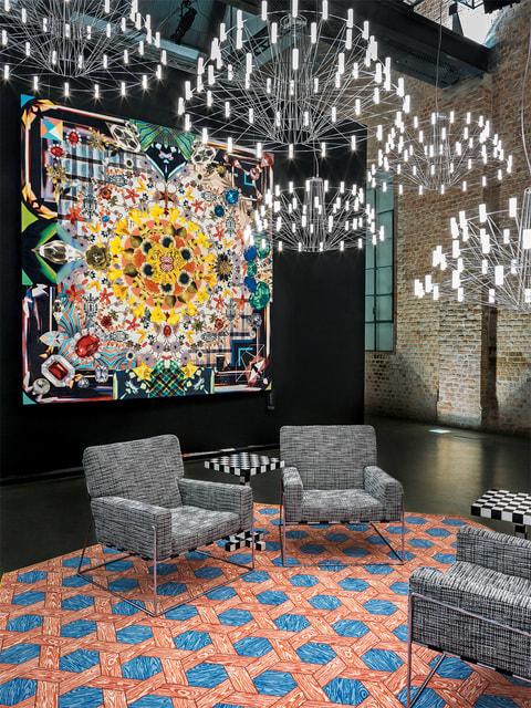Jewels Garden занял достойное место в коллекции Moooi