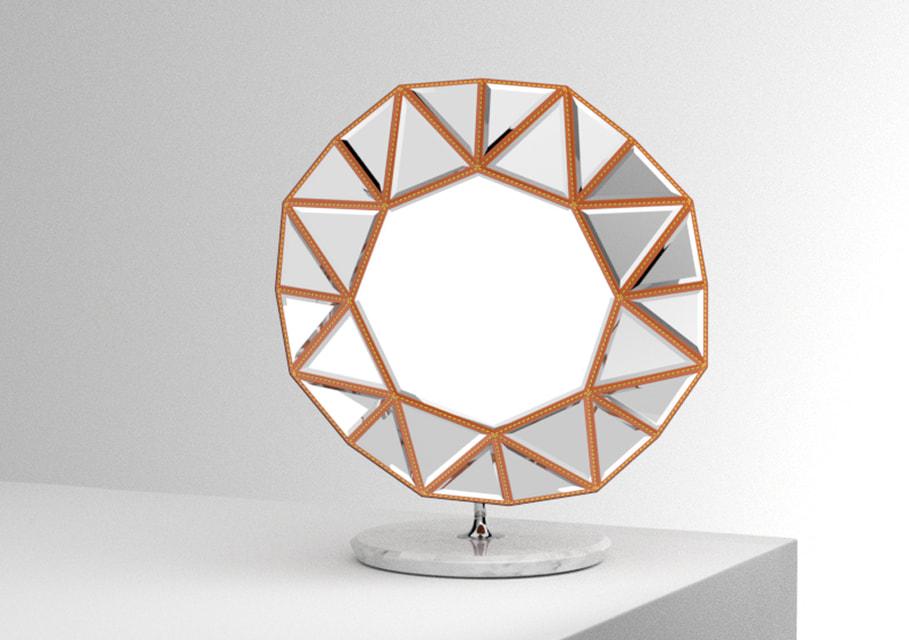 Хрустальное зеркало Марселя Вандерса для  Petits Nomades