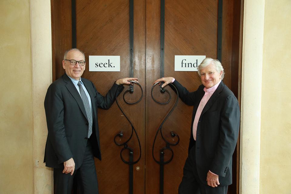 Идеологи GemGeneve Томас Фарбер и Ронни Тота ждут посетителей первой ювелирной выставки с 10 по 13 мая 2018 года