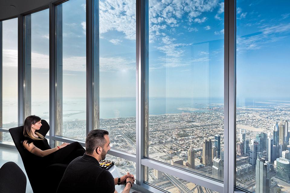 At the Top Sky – самая высокая смотровая площадка в мире на 148-м этаже небоскреба «Бурдж Халифа»