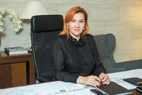 Наталья Осетрова осуществляет руководство проектом города-курорта Gatchina Gardens