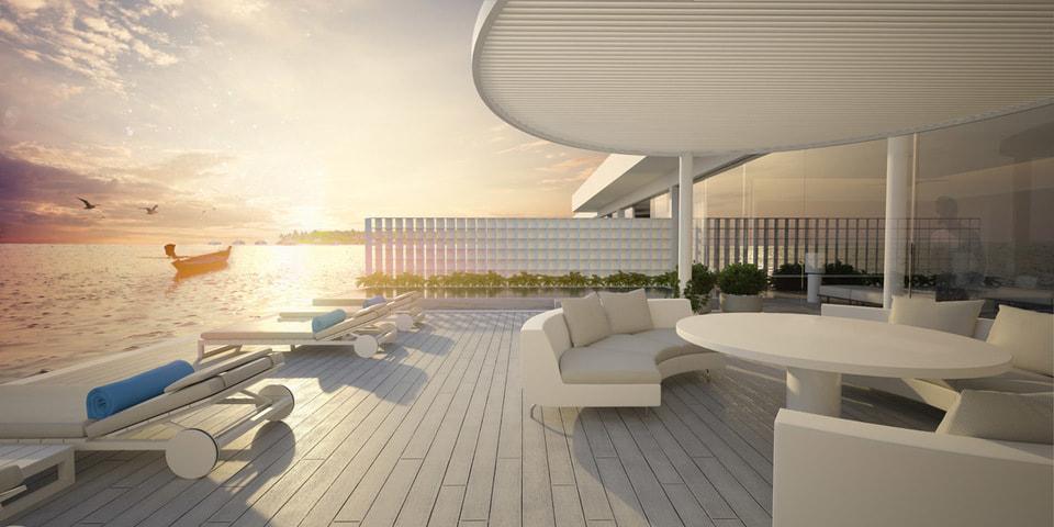 Резиденция Muraka аккуратно «вписана» архитекторами в островной риф