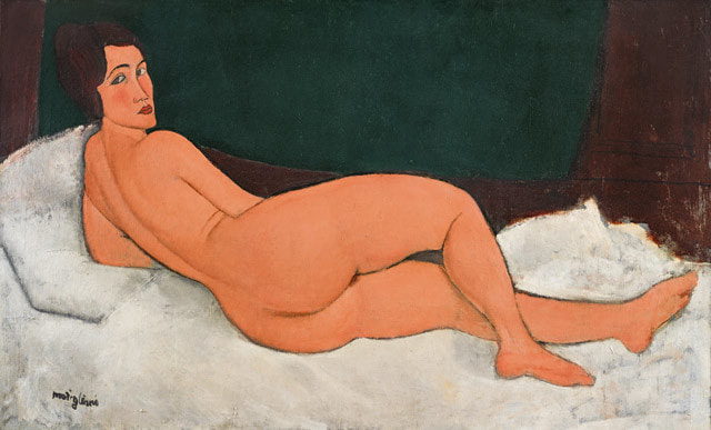 Картина «Лежащая обнаженная» (Nu Cuchee)
