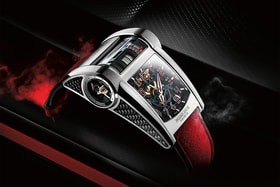 Часы New Bugatti Type 390 Special Edition Geneva Motor Show, Parmigiani Fleurier