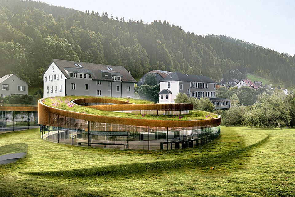 Так будет выглядеть новый пятизвездочный отель в Ле-Брассю