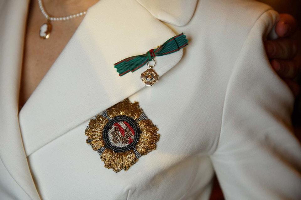 Орден «За заслуги перед Итальянской Республикой» (Ordine al merito della Repubblica Italiana) – высшая награда Италии