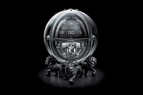 Chanel. Monsieur de Chanel Chronosphere Clock