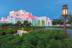 Королевский оперный театр Маската открылся в 2011 году, став первым в регионе Персидского залива