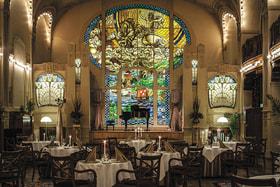 Интерьер ресторана «Европа»