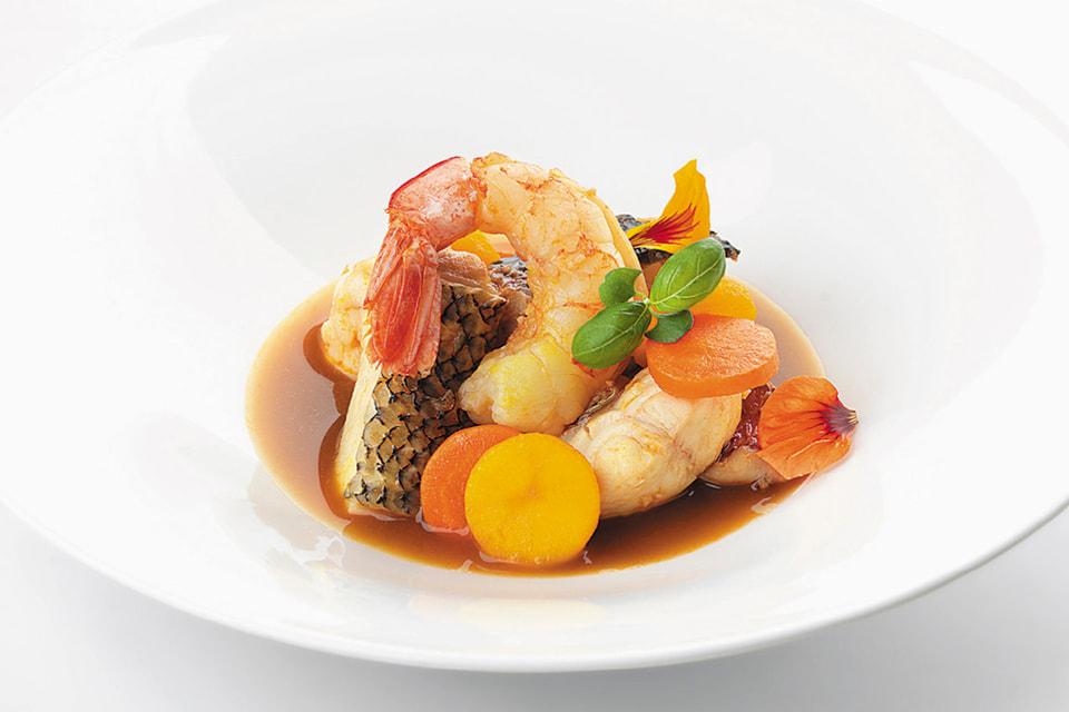 В обновленном меню особое внимание уделили морепродуктам