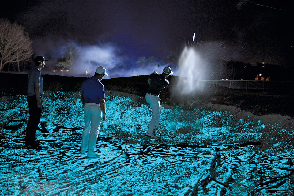 Фрагмент из документального фильма «Полуночные мастера» о ночной партии в гольф посланников Audemars Piguet