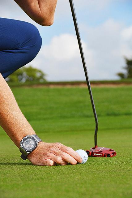 Точность удара и точность работы механизма объединяют бренд и гольф