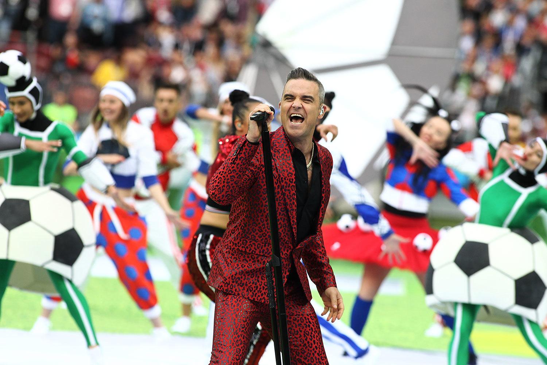 Церемония открытия чемпионата мира по футболу в России