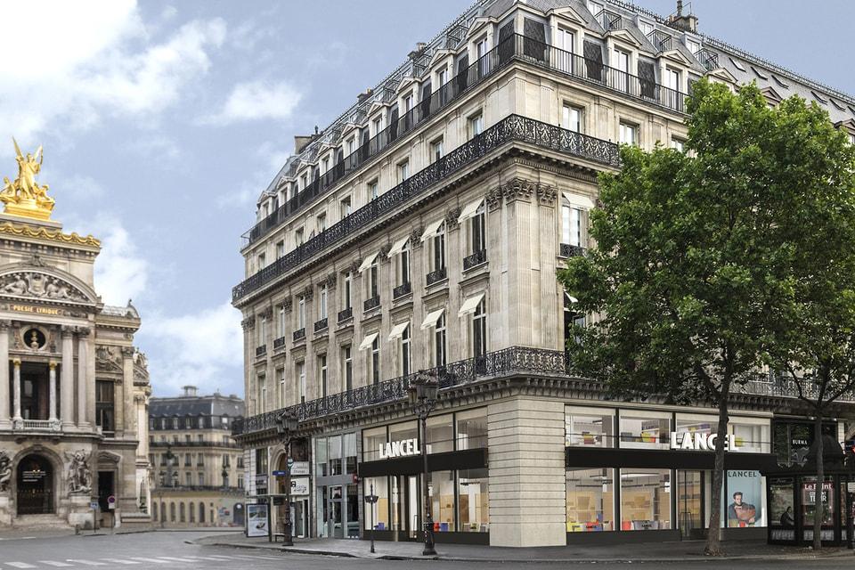 Флагманский бутик Lancel на Place de l'Opera