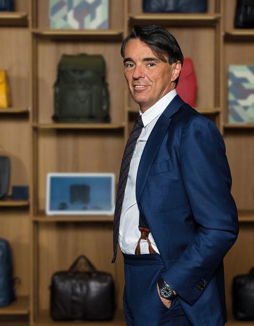 Марко Палмьери, президент и главный исполнительный директор Piquadro Group