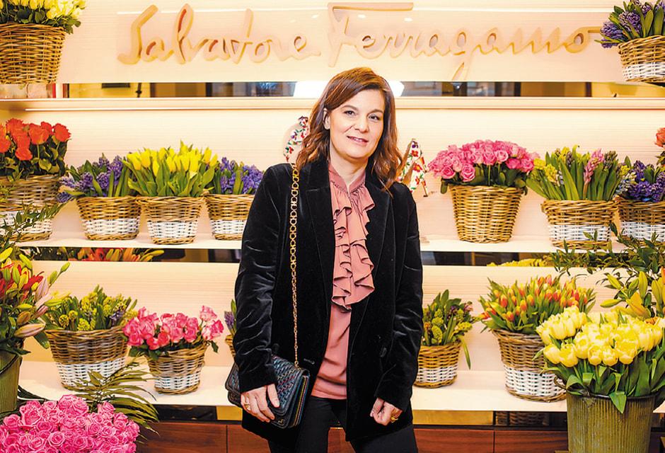 Анжелика Висконти-Феррагамо – внучка основателя марки Сальваторе Феррагамо