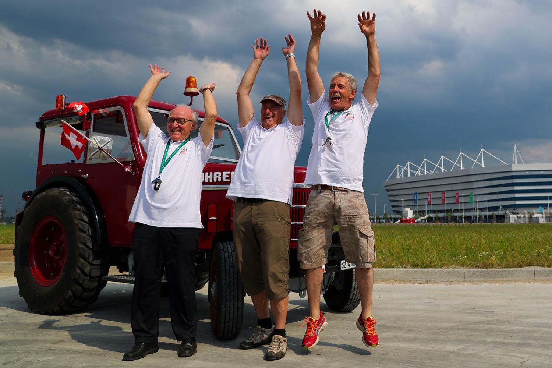 Самые необычные истории болельщиков на чемпионате в России