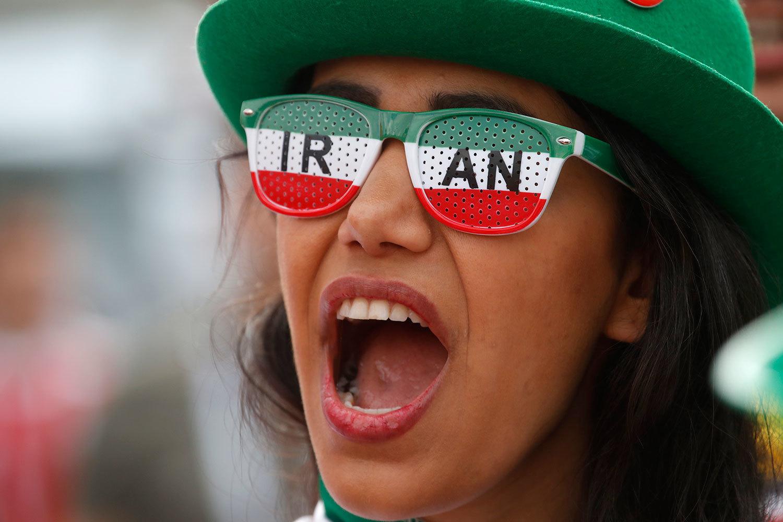 Самые яркие болельщицы из Ирана на чемпионате мира в России