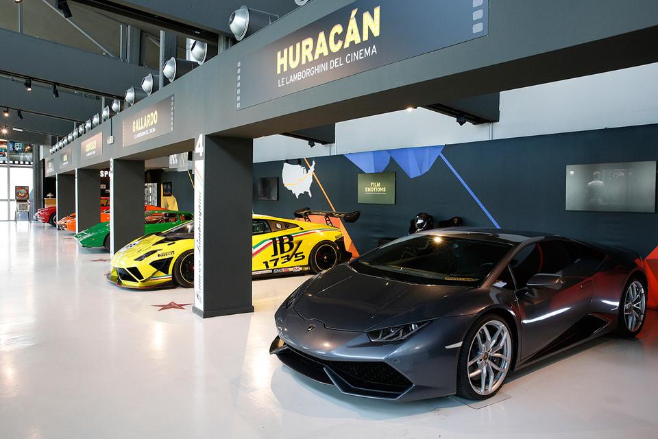 Ряд суперкаров Lamborghini, которые «засветились» в кино