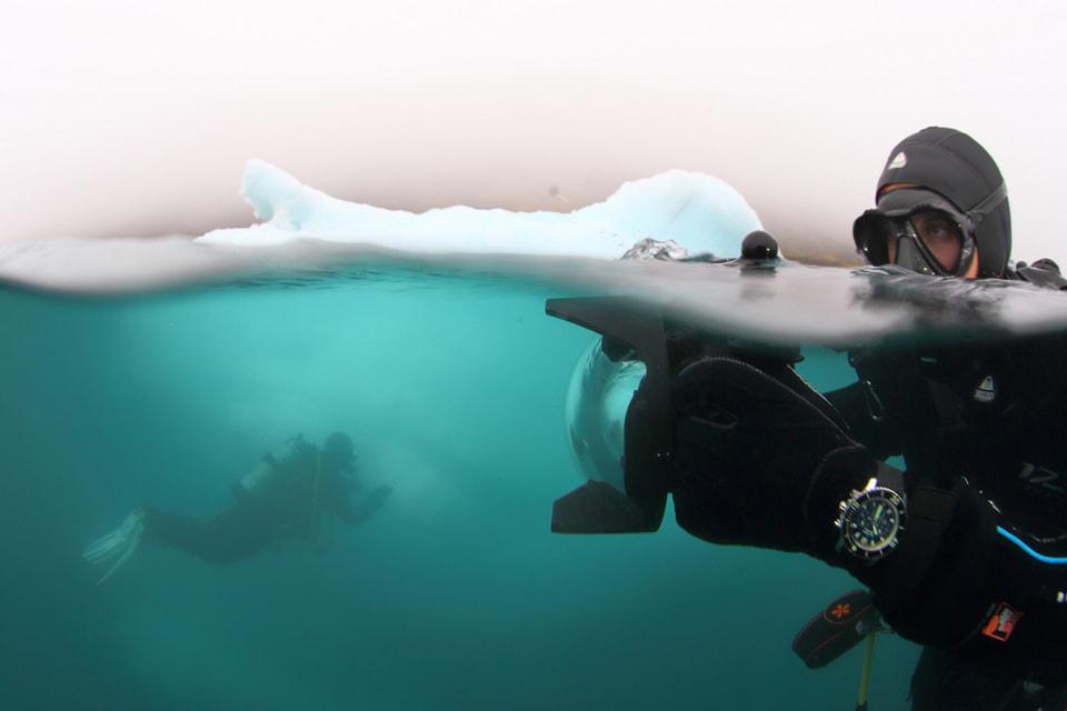 В каждой экспедиции Pristine Seas морского исследователя Эрика Салы и National Geographic делаются десятки фотографий, которые потом можно увидеть на сайте Blancpain Ocean Commitment