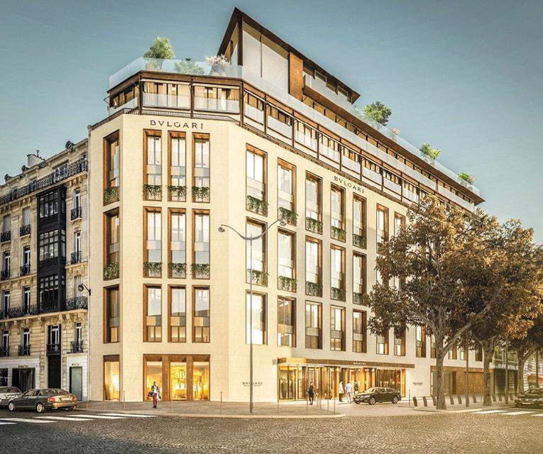 В 2020 году Bvlgari откроет отель в Париже