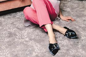 Модель в обуви бренда