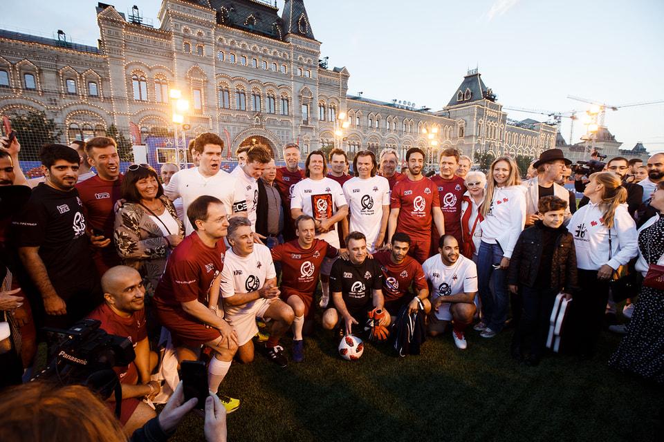 Дружеский матч команд России и Катара стал еще одним событием в рамках перекрестного года культур двух стран