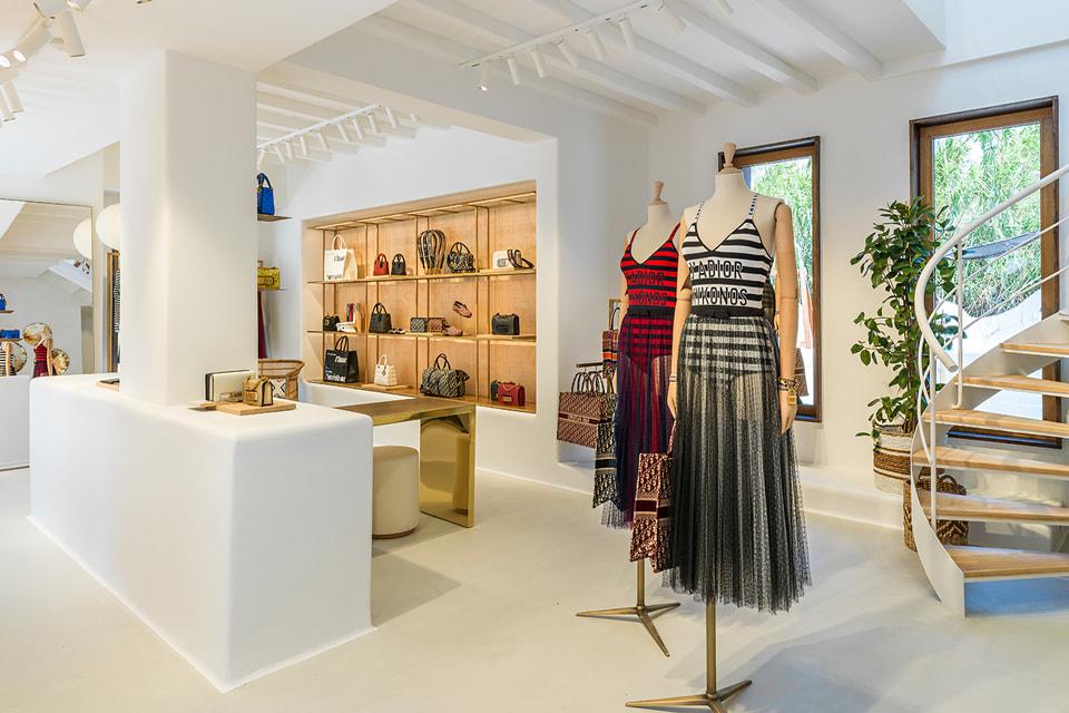В pop-up бутике Dior на острове Миконос представлена особая капсульная коллекция