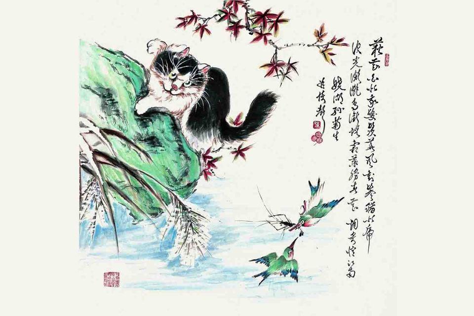 В ЦУМе пройдет выставка китайской живописи