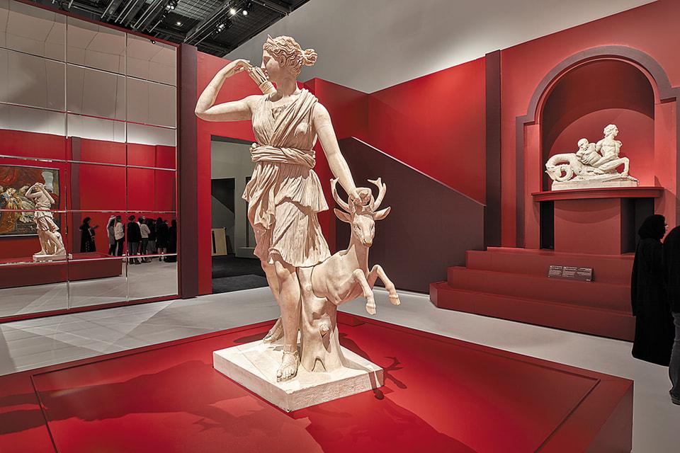 Временная выставка «Из одного Лувра в другой», Абу-Даби Лувр