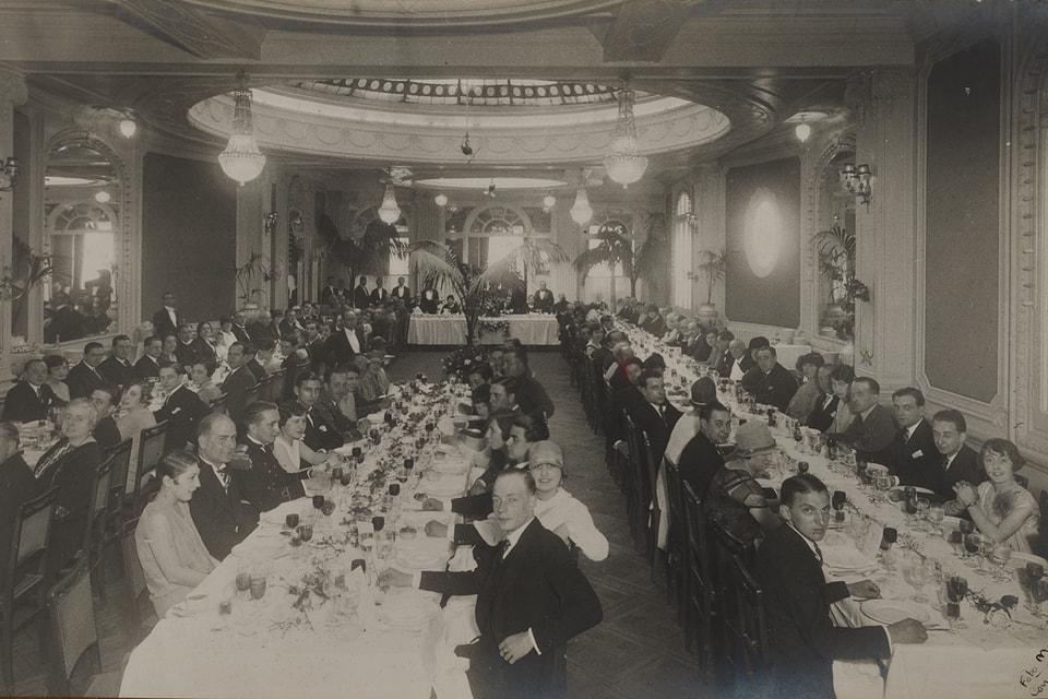 Отель Majestic Hotel&Spa Barcelona в начале прошлого века
