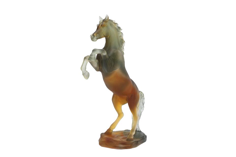 Скульптура  создана Daum специально для России. Тираж 125 экземпляров