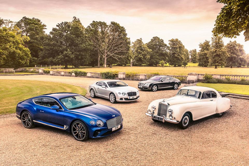 Легендарные автомобили Bentley: вчера и сегодня