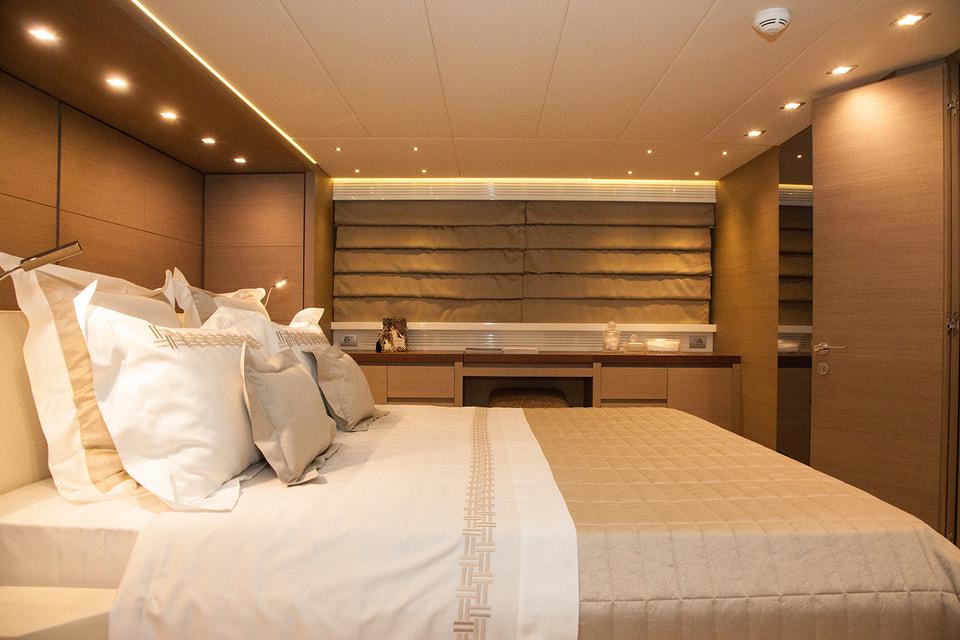 Комфортная «спальня» с текстилем Frette
