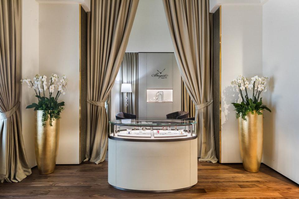 Breguet представил в Москве новый дизайн-концепт  бутиков, который будет релизован во всем мире