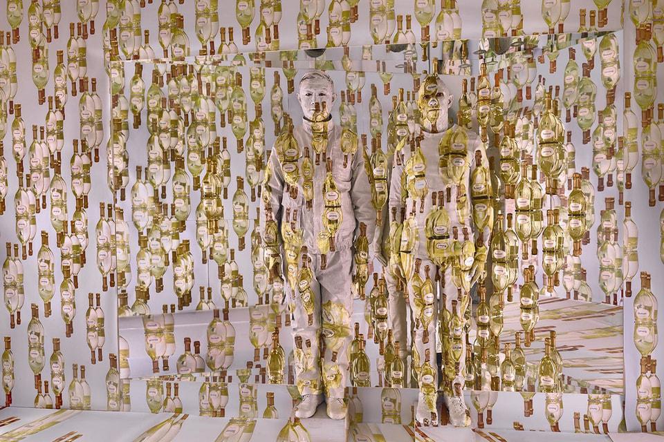 Коллаборацию Ruinart  с художником Лю Болином покажут на Cosmoscow. На фото работа Lost in Blanc de Blancs