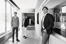 Братья Россетти: Диего, управляющий директор компании, Дарио, глава отдела дизайна, и Лука, финансовый директор и глава производства