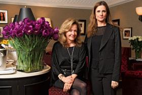 Каролина Шойфеле, сопрезидент Chopard, и Ливия Ферт, основатель организации Eco-Age в России