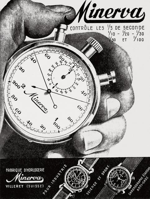 Приобретенная Montblanc в 2007 г. мануфактура Minerva славилась своими профессиональными хронографами