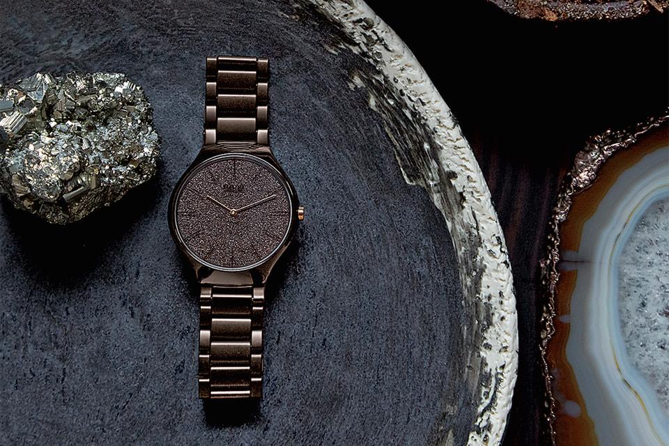 Циферблаты часов Rado True Thinline Nature вдохновлены тремя природными стихиями из садов Grandi Giardini Italiani